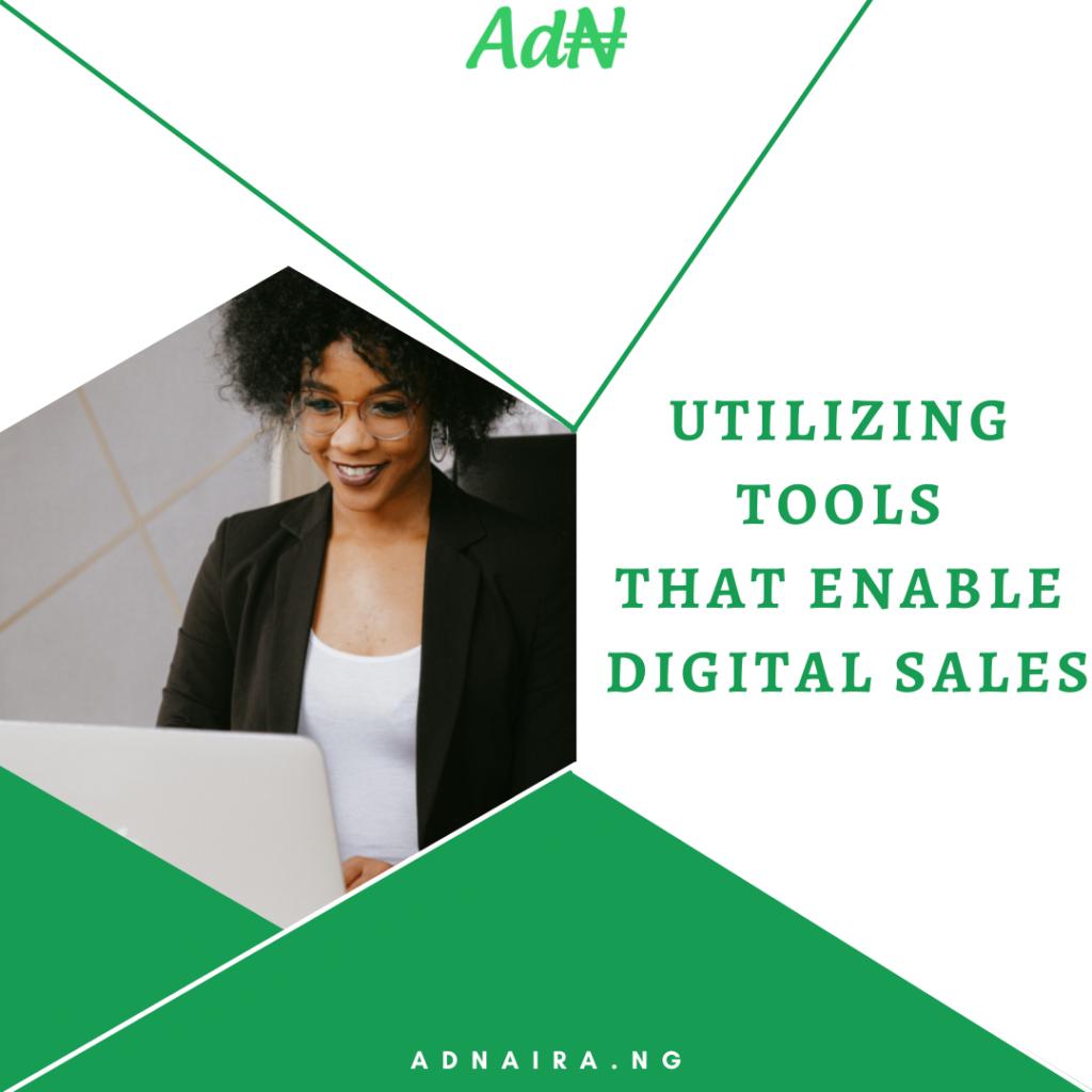 UtilizingTools That Enable Digital Sales